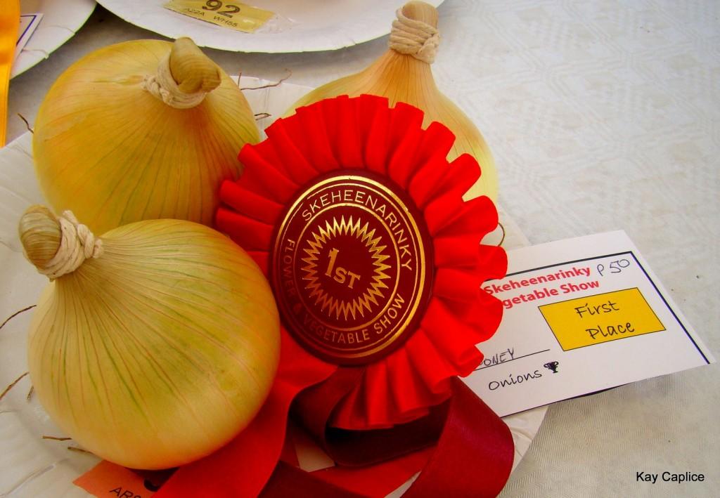 Onions Flower and Veg